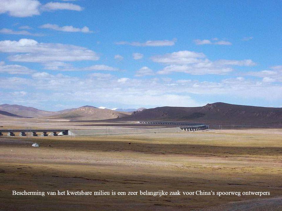 Bescherming van het kwetsbare milieu is een zeer belangrijke zaak voor China's spoorweg ontwerpers