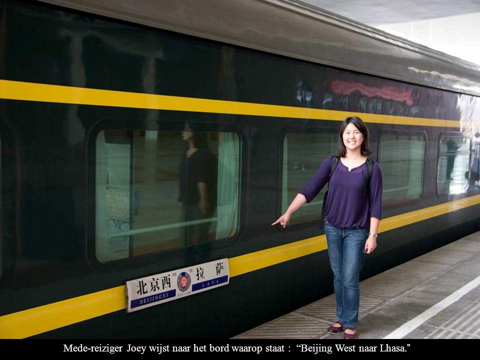 Lhasa Spoorweg Stationshal