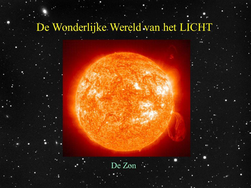De zon is een grote gasbol waarin de meest extreme dingen gebeuren, maar waardoor wij licht en warmte ontvangen.
