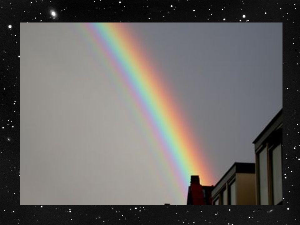 Hoe ontstaat de regenboog .