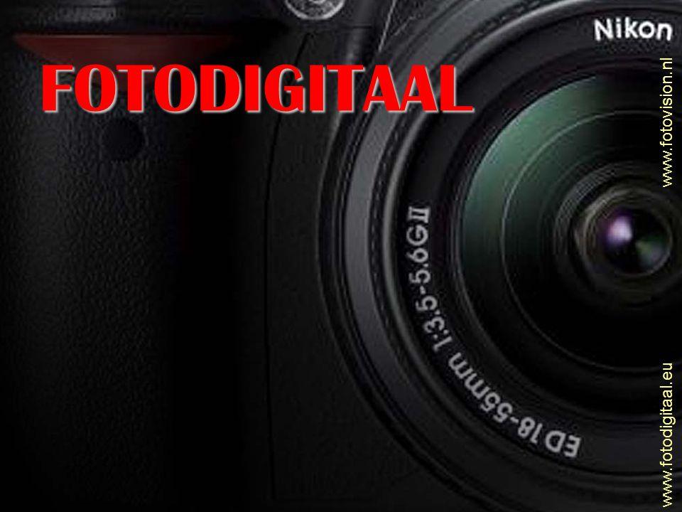 www.fotovision.nl www.fotodigitaal.eu Richtgetal flitser • Richtgetal geeft kracht aan van de flitser • Hoe hoger het richtgetal – hoe verder het flitslicht reikt • Richtgetal : aantal meters = diafragma • Richtgetal : diafragma = aantal meters • Richtgetal wordt aangegeven bij 21 DIN / 100 ASA • Hoe hoger je DIN/ASA instelt, hoe verder het licht komt • Op automaat wordt dit door camera / flitser bepaald • Op handbediening zelf berekenen