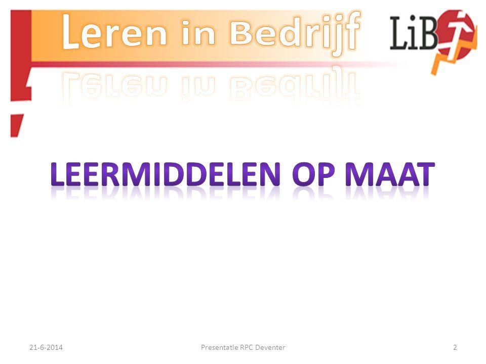 21-6-2014Presentatie RPC Deventer22 Aandacht tonen: • Norm (= 0)- Aan vragen/opdrachten van collega's en chefs wordt door beoordeelde aandacht geschonken.