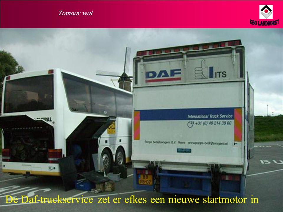 Zomaar wat Waarom start die (ver…..) bus nou niet ?
