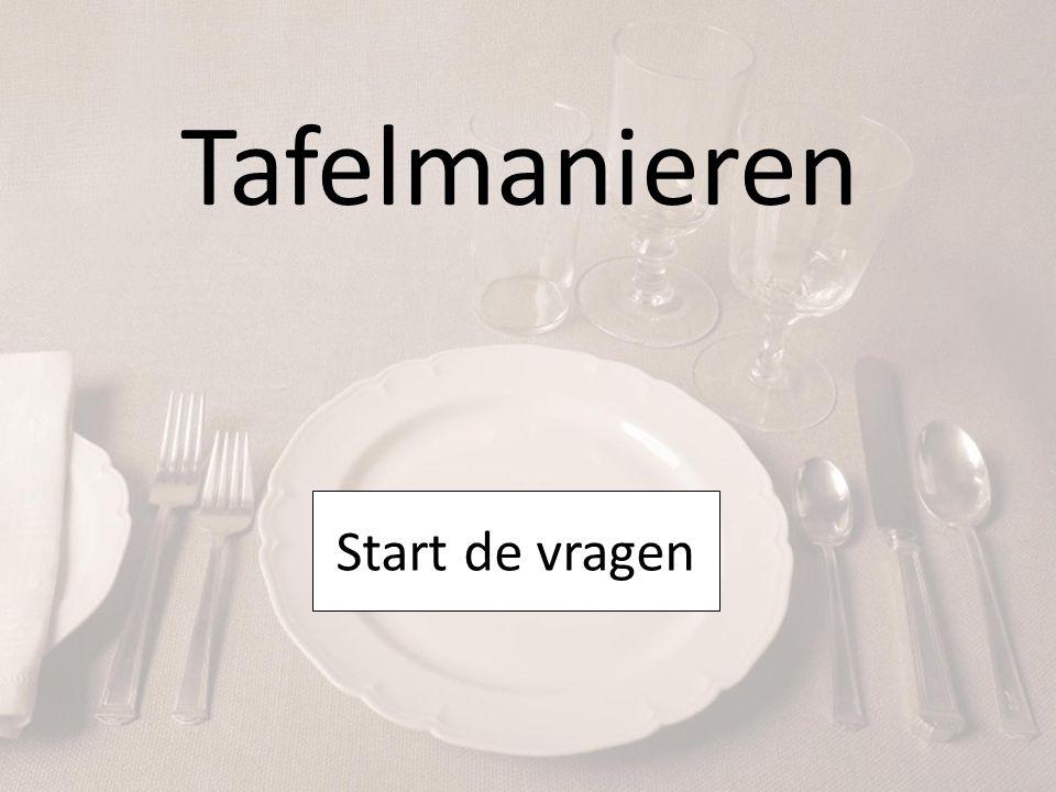 Stelling 1 Smakken tijdens het eten is in België zeer onbeleefd.