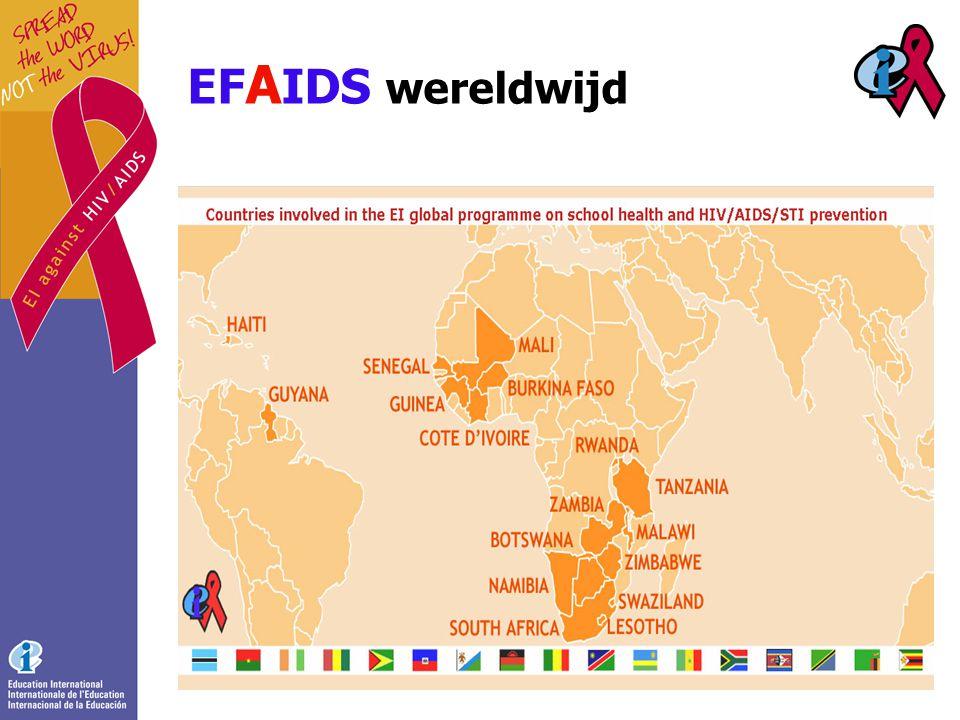EF A IDS wereldwijd