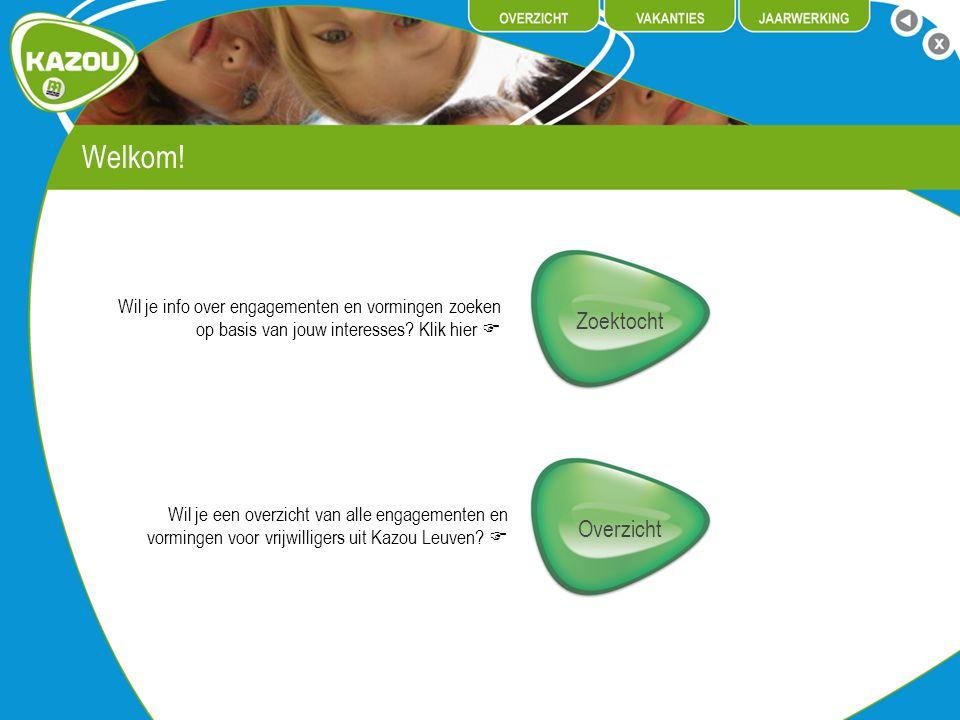 Werkgroep ZADA Zada staat voor ZAng en DAns.
