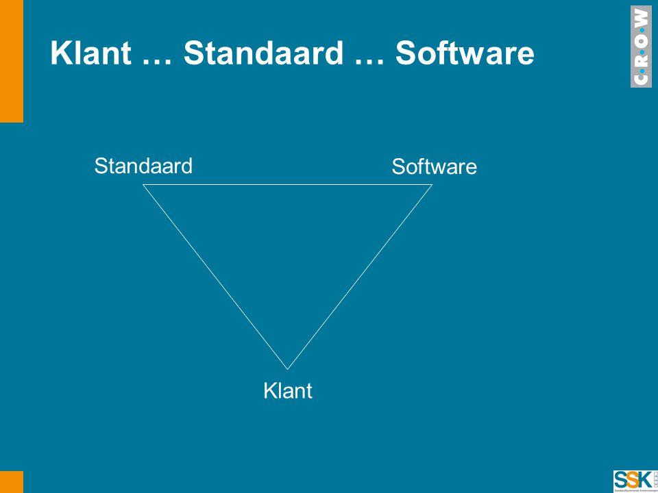 Klant … Standaard … Software Standaard Software Klant