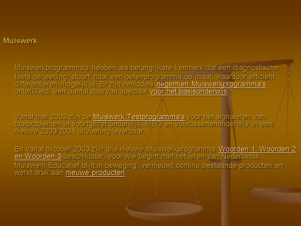 Muiswerk – Basisspelling Prijs: € 231,50 inclusief 5 licenties, schoolversie.