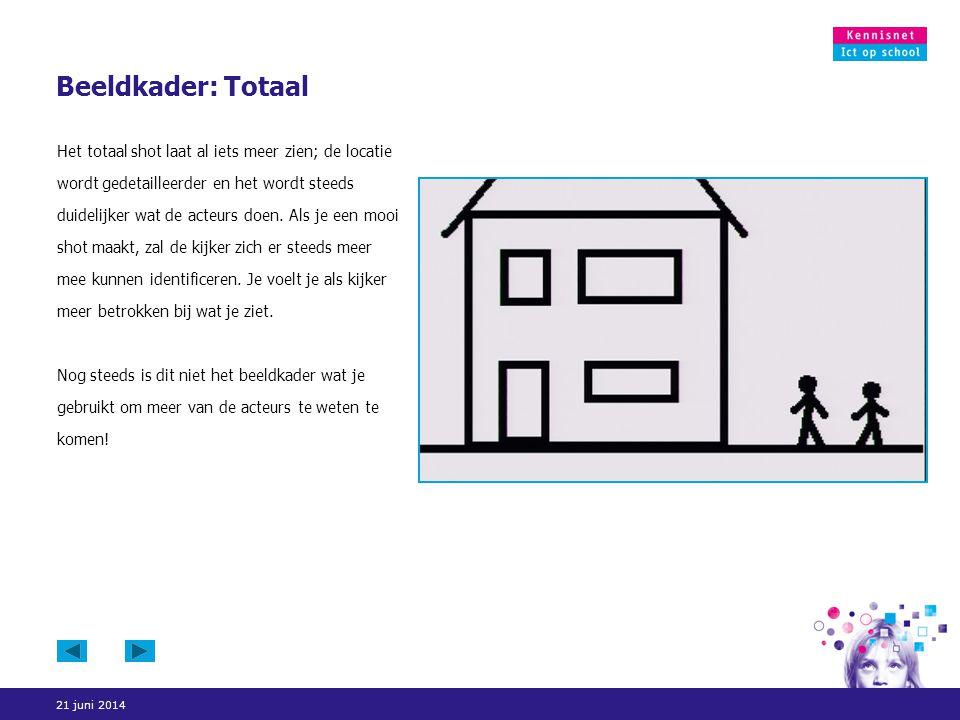 21 juni 2014 Beeldkader: Two shot De term 'two shot' geeft aan hoeveel mensen je in beeld wil hebben.