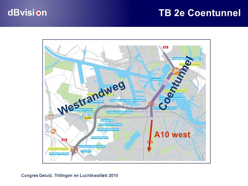 dBvisi n Congres Geluid, Trillingen en Luchtkwaliteit 2010 TB 2e Coentunnel Coentunnel Westrandweg A10 west