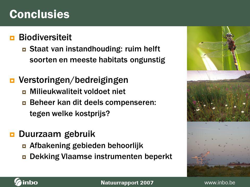 Bijdrage MINA-plan  Vlaamse instrumenten bieden beperkte dekking onbekend