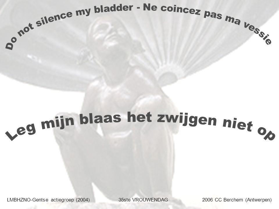 LMBHZNO-Gentse actiegroep (2004)35ste VROUWENDAG2006 CC Berchem (Antwerpen)