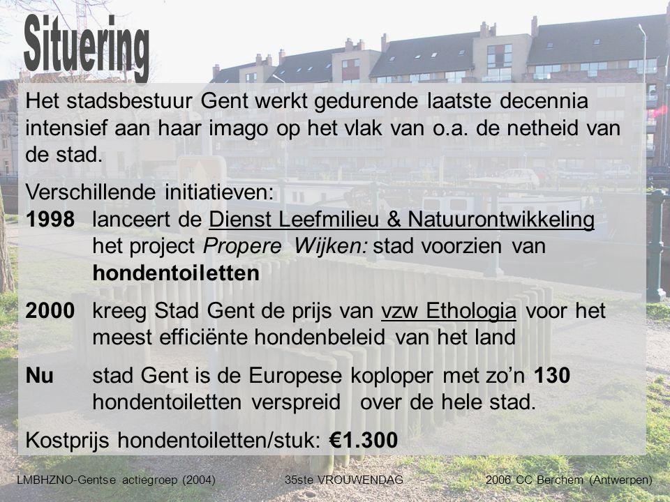 Het stadsbestuur Gent werkt gedurende laatste decennia intensief aan haar imago op het vlak van o.a. de netheid van de stad. Verschillende initiatieve