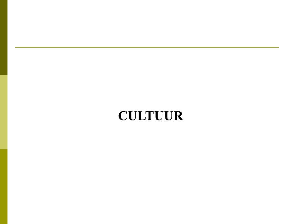 Cultuur  = Uitwisselen van betekenis  Hoe?  Via 'taal' (tekens)= representatiesysteem