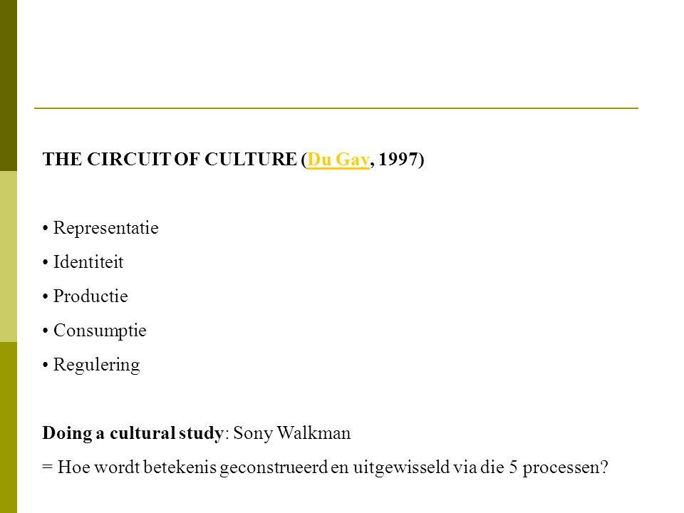 BETEKENIS = ONSTABIEL / CONTEXTAFHANKELIJK De culturele context (geografisch, historisch,...) bepaalt mee de betekenis van tekens/representaties: bv.