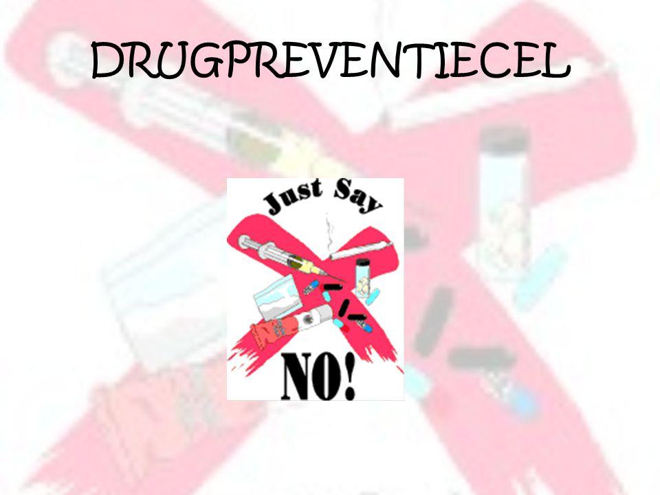Neen tegen drugs.