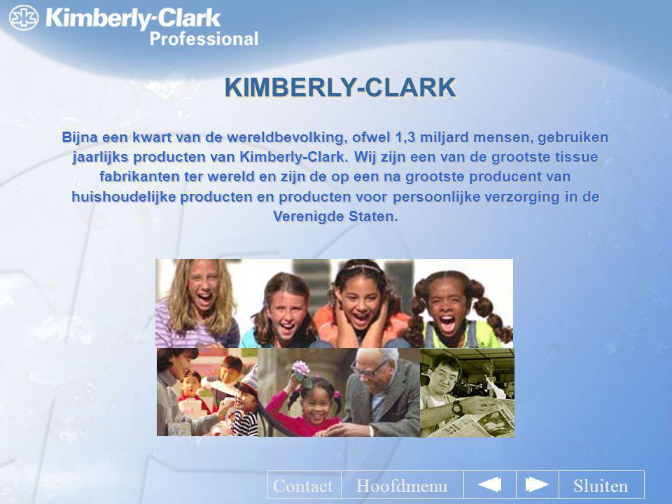Bijna een kwart van de wereldbevolking, ofwel 1,3 miljard mensen, gebruiken jaarlijks producten van Kimberly-Clark. Wij zijn een van de grootste tissu