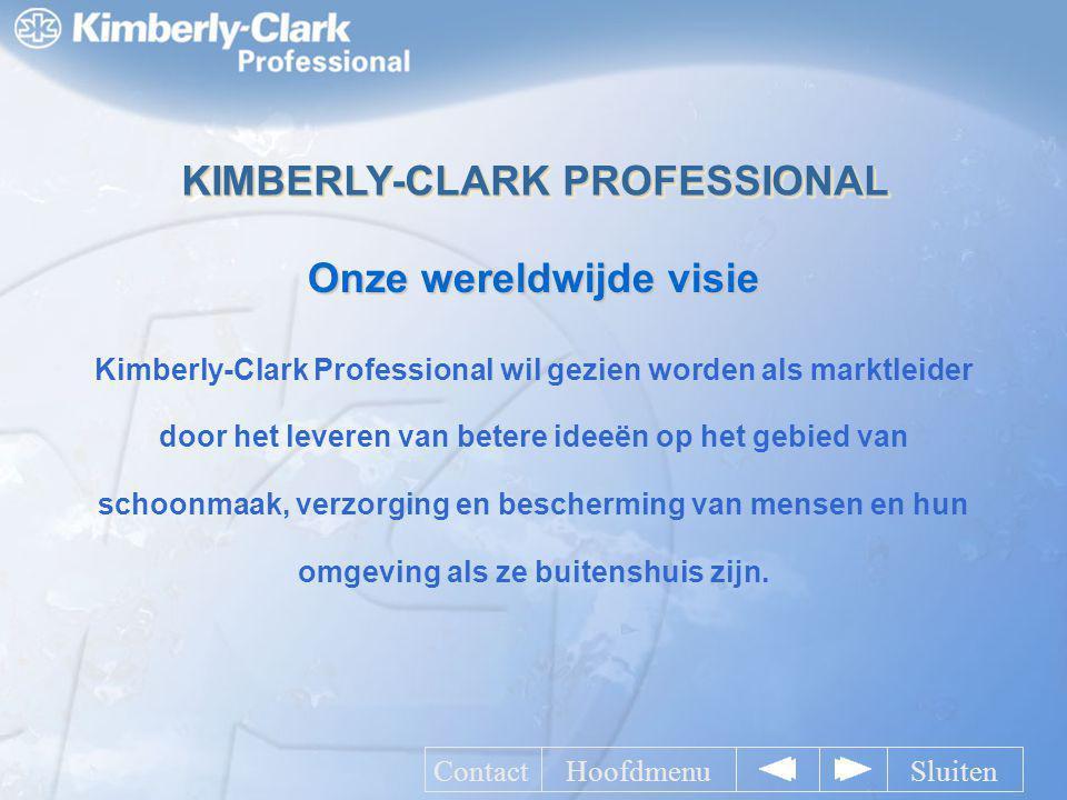 Kimberly-Clark Professional wil gezien worden als marktleider door het leveren van betere ideeën op het gebied van schoonmaak, verzorging en beschermi