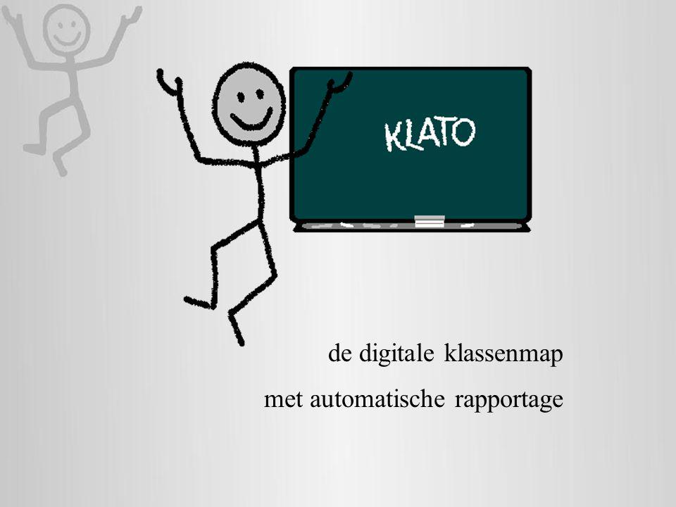 de digitale klassenmap met automatische rapportage