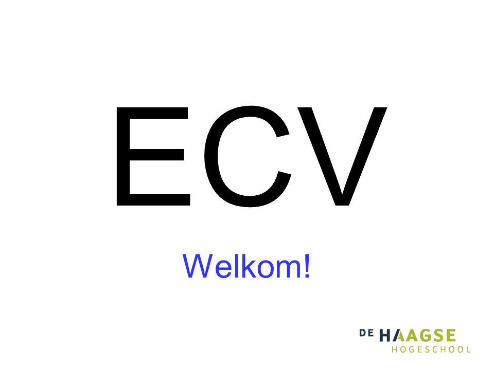 ECV Welkom!