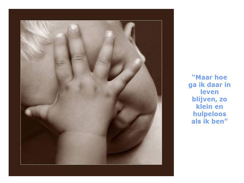 Op een dag vroeg het kind aan god: ze vertellen me dat jij me morgen naar de aarde zal sturen