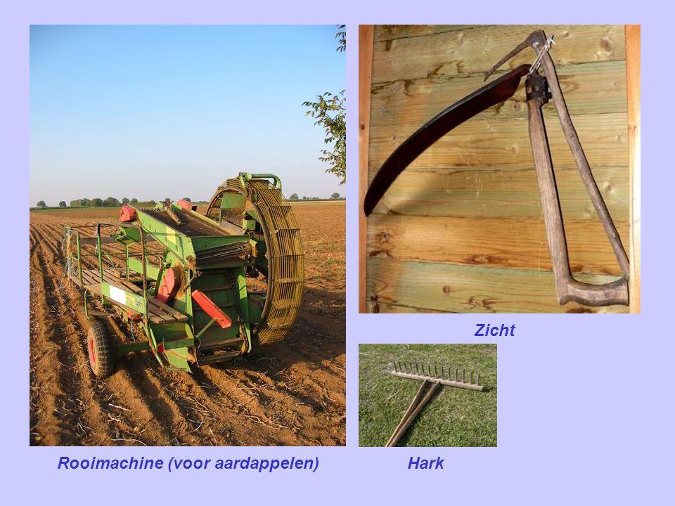 Rooimachine (voor suikerbieten)
