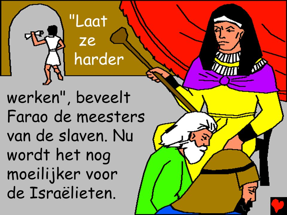 Farao is nog niet klaar met de Israëlieten. Hij is alweer vergeten welke plagen God zond.