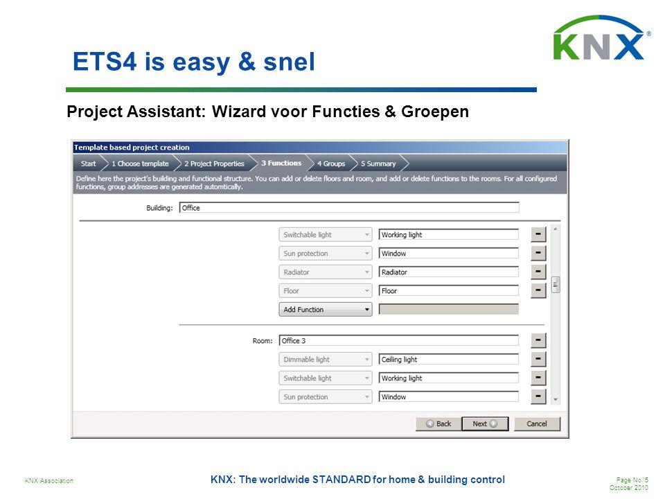 KNX Association Page No.