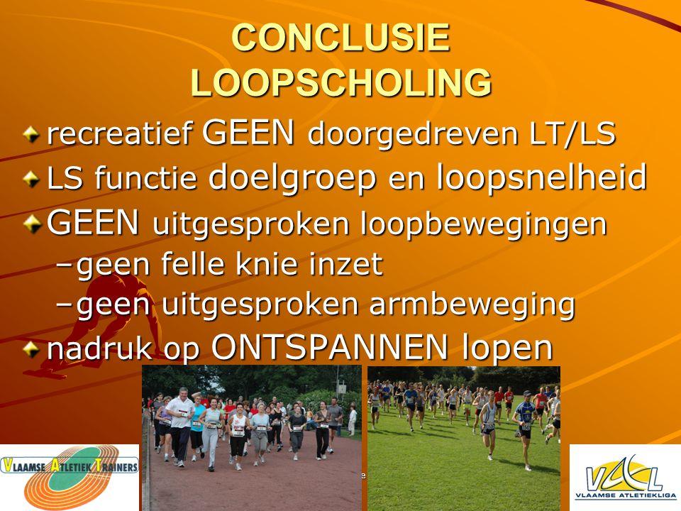 Loopscholing theorie - praktijk Voorbeeld LS accenten HALVE FOND/FOND economisch – vloeiend meer afrollen voet (tendens voorvoetlopers) volledige stuw