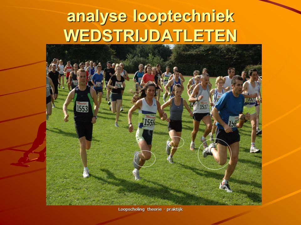 Loopscholing theorie - praktijk analyse looptechniek BEGINNERS