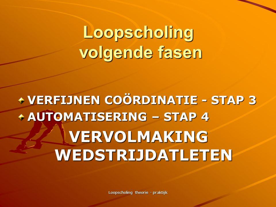 Loopscholing theorie - praktijk Loopscholing praktijkoefeningen (14) EENVOUDIGE COORDINATIE - STAP 2 hakken billen / skipping variaties –armen gestrek