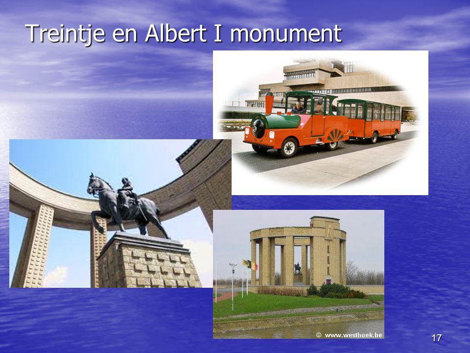 17 Treintje en Albert I monument