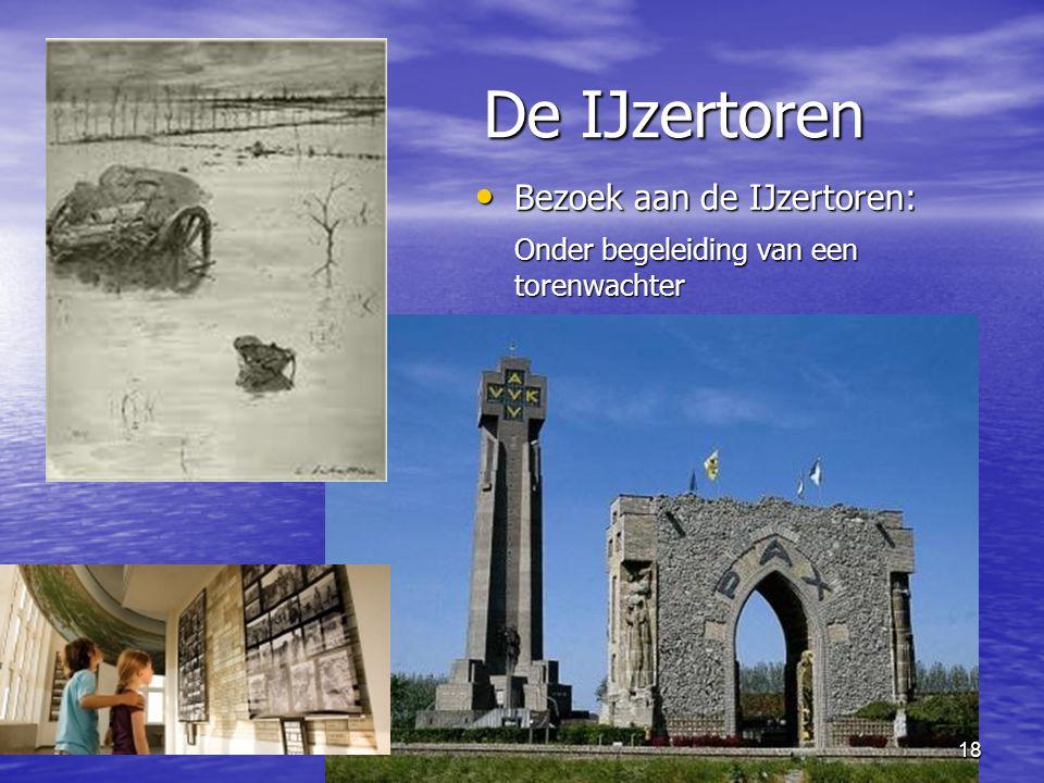 18 De IJzertoren • Bezoek aan de IJzertoren: Onder begeleiding van een torenwachter