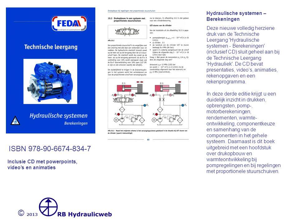 © 2013 ISBN 978.90.6674.836.1 Filtertechniek voor de hydrauliek Uit onderzoek blijkt dat meer dan 75% van de in hydraulische systemen optredende storingen is terug te voeren tot een onvoldoende conditionering van de hydraulische vloeistof.