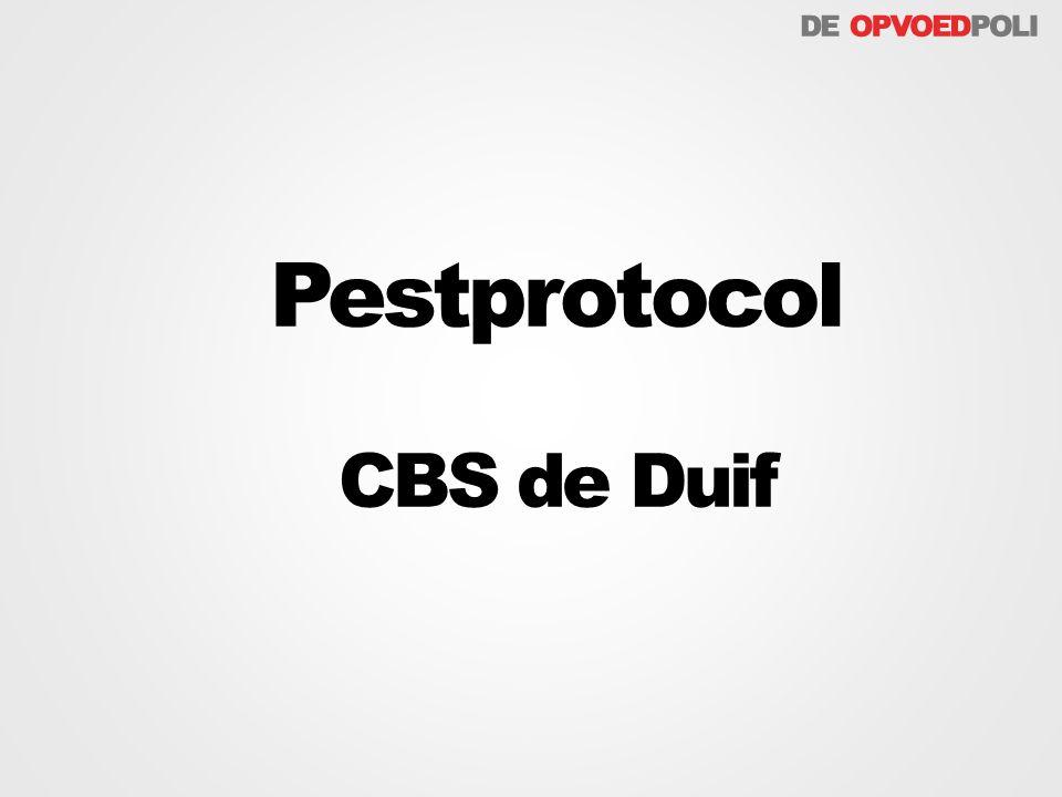 Pestprotocol CBS de Duif
