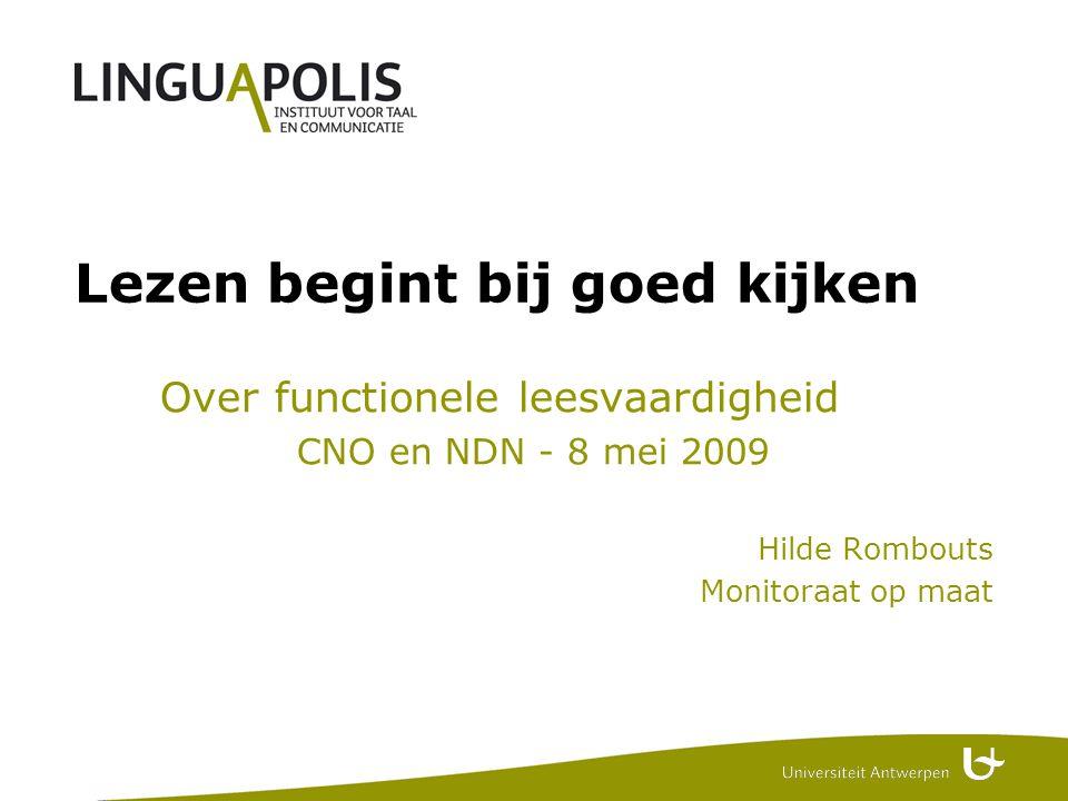 1 Context Praktijkervaring Monitoraat op maat = taalondersteuning academisch Nederlands = persoonlijke studentenbegeleiding Literatuur (zie bijlage)