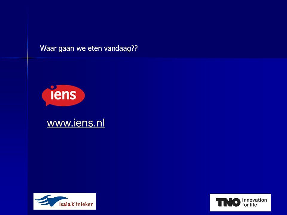 Waar gaan we eten vandaag www.iens.nl