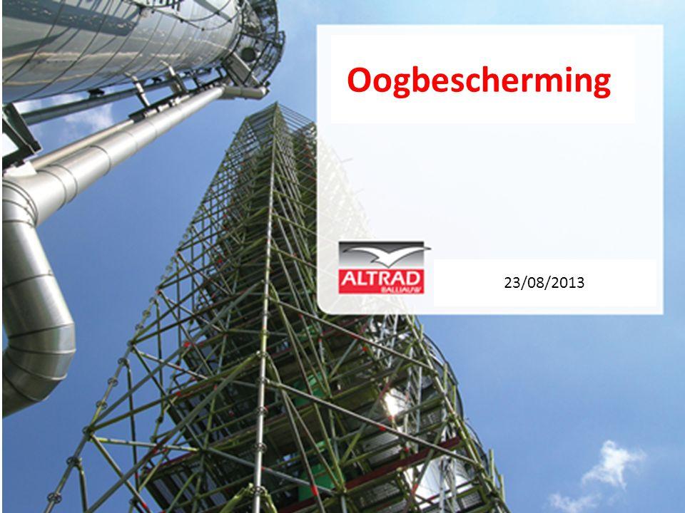 Sinds 01/01/2013 reeds 6 ongevallen met Ogen Tijdens het doorsteken van materiaal, vliegt een klein voorwerp in het Rechter oog van SL.