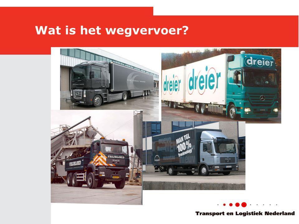 Wat is het wegvervoer?