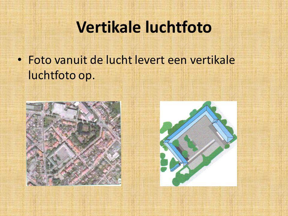 Vertikale luchtfoto • Foto vanuit de lucht levert een vertikale luchtfoto op.
