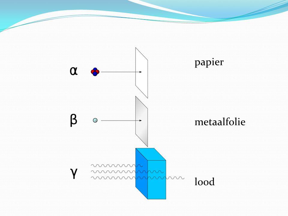 voorbeeld 3  Hoeveel energie komt er vrij als 1 u (=1,66..