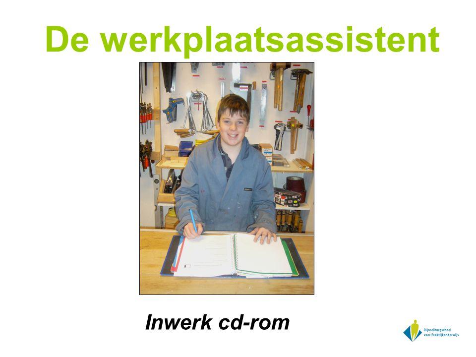 De werkplaatsassistent Inwerk cd-rom
