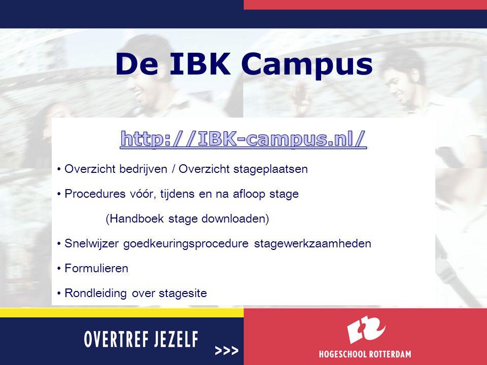 De IBK Campus