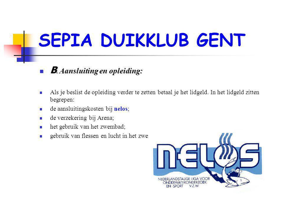 SEPIA DUIKKLUB GENT  B.