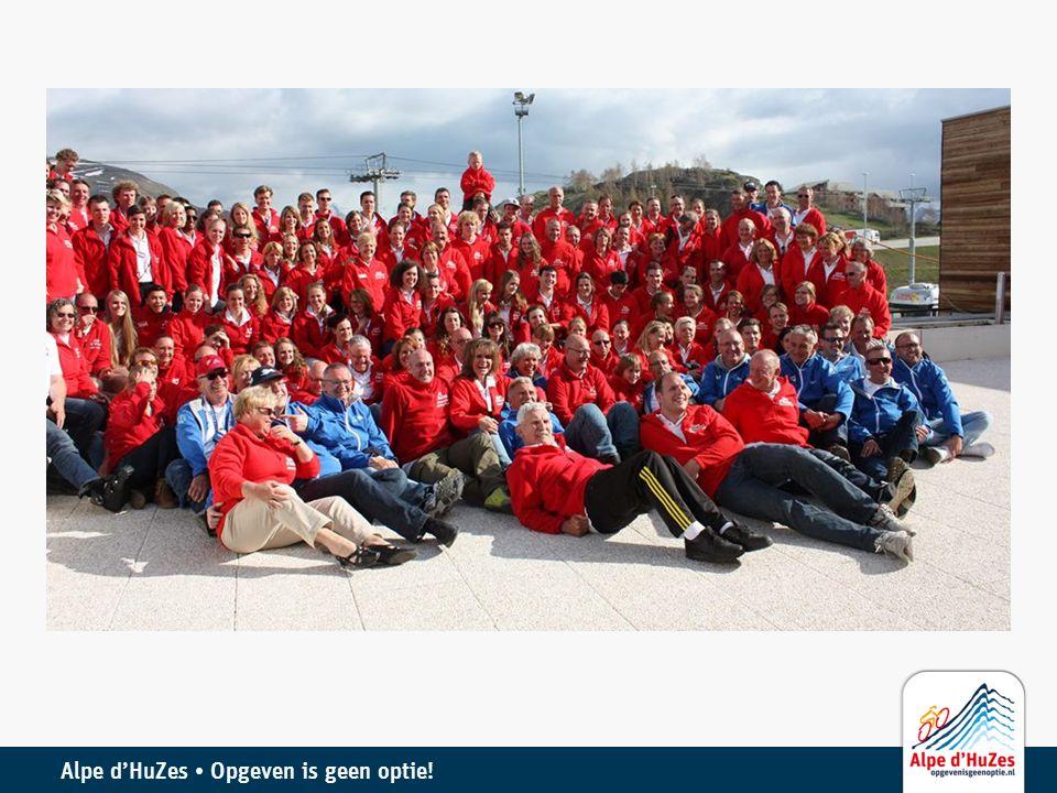 Alpe d'HuZes • Opgeven is geen optie!