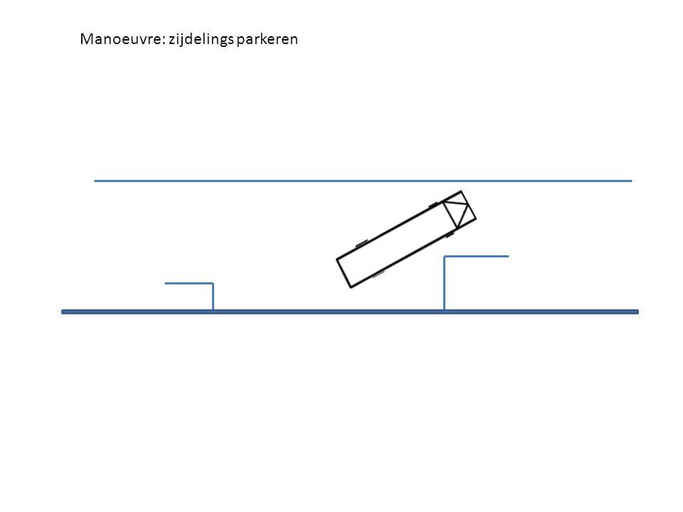 Manoeuvre: zijdelings parkeren