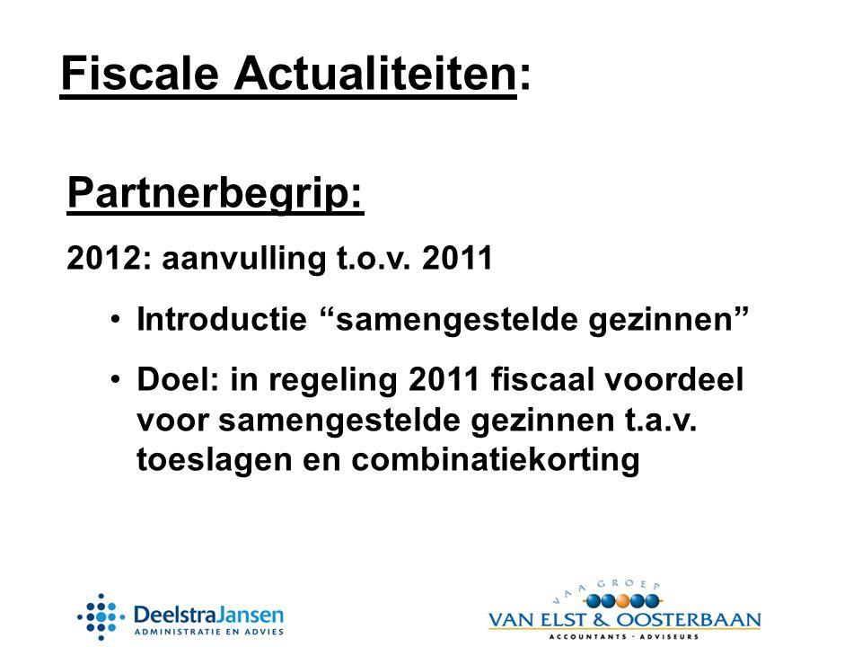 Partnerbegrip: 2012: aanvulling t.o.v.