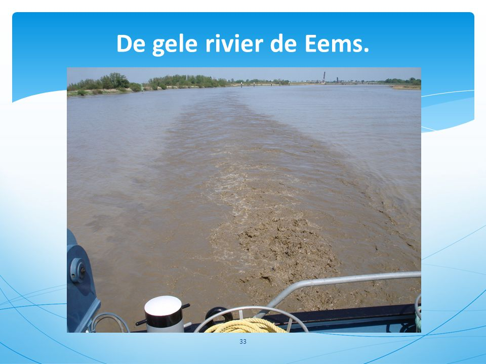 De gele rivier de Eems. 33