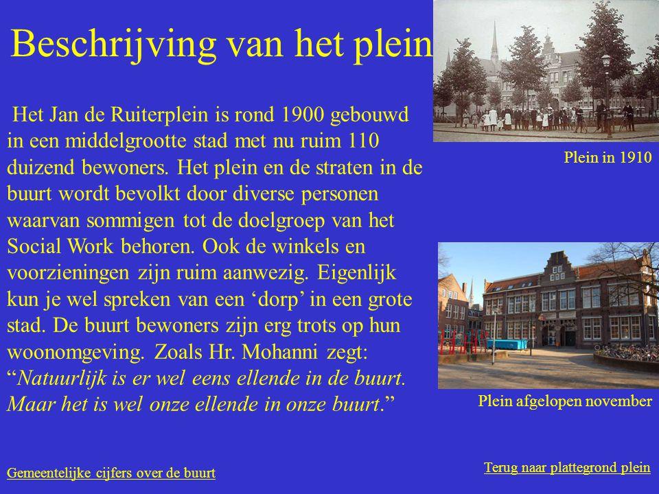Terug naar plattegrond plein Beschrijving van het plein Het Jan de Ruiterplein is rond 1900 gebouwd in een middelgrootte stad met nu ruim 110 duizend bewoners.