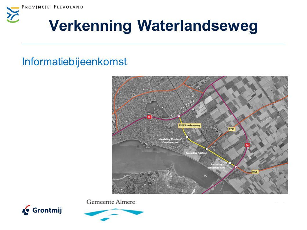 Verkenning Waterlandseweg Informatiebijeenkomst